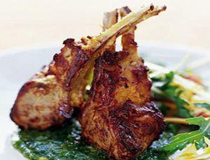 طرز تهیه گوشت بره با ادویه هندی