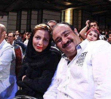 عکس های مهران غفوریان و همسرش+بیوگرافی