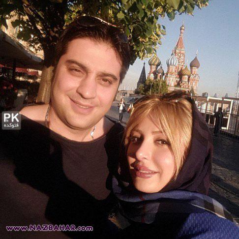 نیوشا ضیغمی,عکس های نیوشا ضیغمی و آرش پولادخان در مسکو