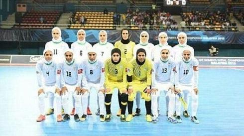 تبریک لیلا حاتمی به مناسبت قهرمانی تیم فوتسال زنان در آسیا