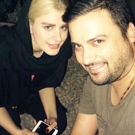 عکس جدید مهدی سلوکی به همراه همسرش