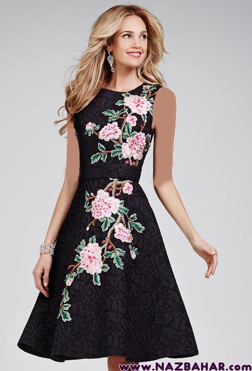 مدل لباس مجلسی کوتاه 2016,لباس مجلسی کوتاه دخترانه,مدل لباس مجلسی شیک