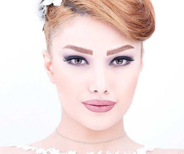 مدل آرایش عروس 2016 , مدل مو عروس 2016 ,میکاپ اروپایی