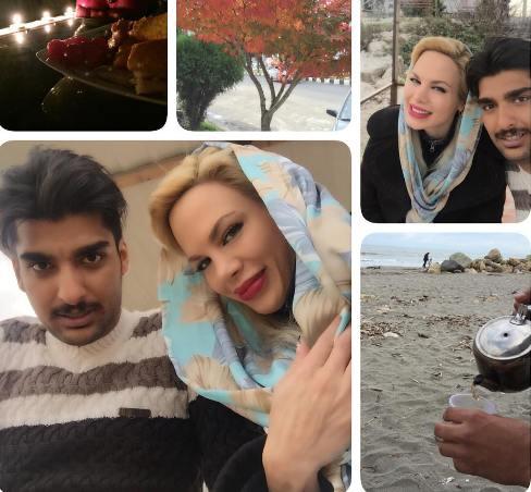 2 عکس جدید نامی عبداللهی با همسرش