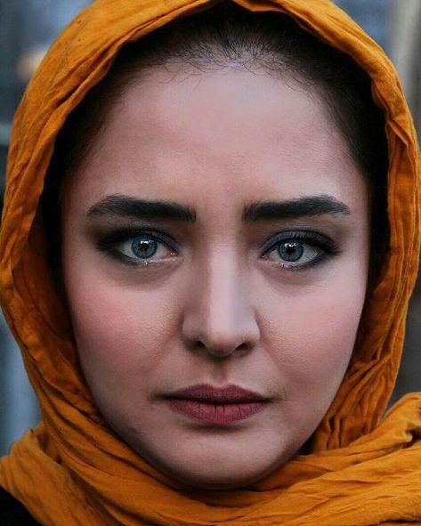 قرص ویتامین و لنز روشن نرگس محمدی (2 عکس)