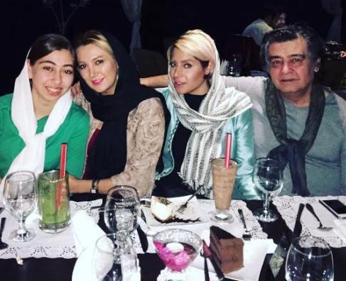 دعای خیر و 2 عکس جدید رضا رویگری در کنار همسرش