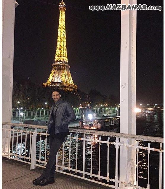 عکسهای جدید اینستاگرام فرهاد مجیدی در فرانسه و برج ایفل