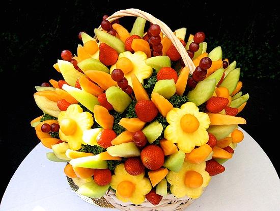 تزیین میوه شب یلدا,تزیینات میوه شب چله,عکس تزئین میوه و آجیل یلدا