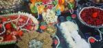 تزئینات میوه شب یلدا | مدل تزیین برای شب چله ۹۵