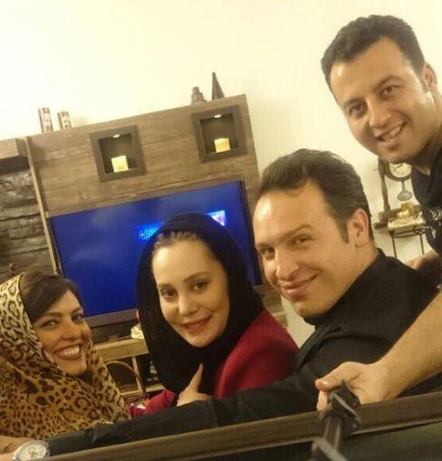 2 عکس سلفی و جدید آرام جعفری در کنار همسرش