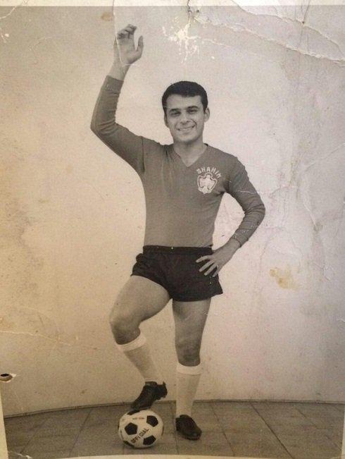 همایون بهزادی و عکسی از دوران جوانی اش
