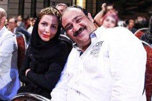 عکس آسانسوری مهران غفوریان و نیوشا ضیغمی با همسرانشان