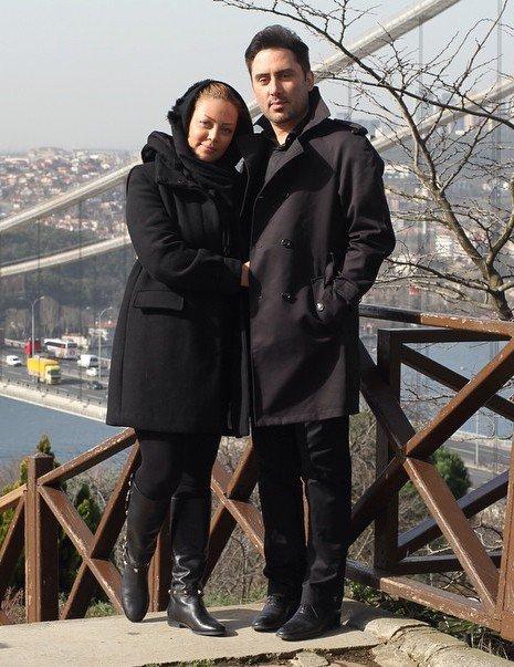 نیما مسیحا و 3 عکس جدیدش در کنار همسرش