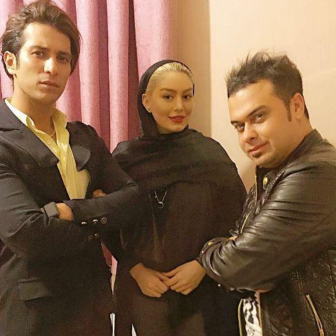 سحر قریشی و عکس جدیدش در کنار همسرش و حامد پهلان