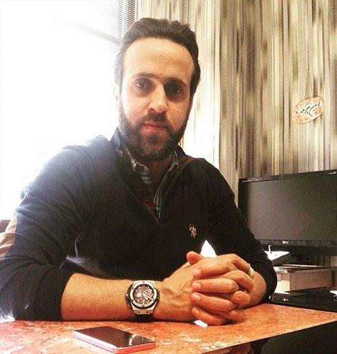 علی کریمی و عکس جدیدش با چهره ای متفاوت