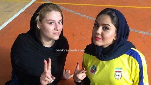 عکس آزاده زارعی در کنار دختر مرحوم ناصر حجازی