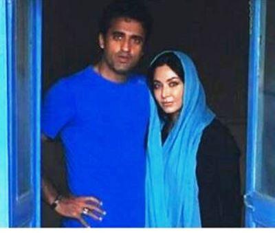فقیهه سلطانی و تبریک روز عشق به همسرش