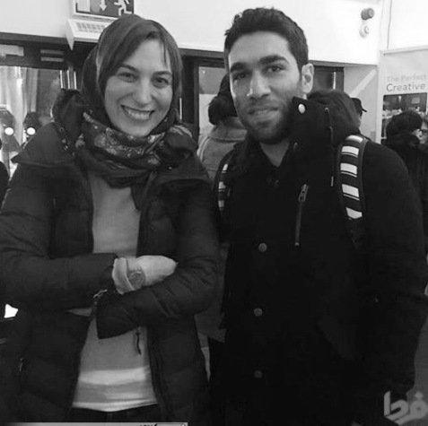 عکس جدید فلامک جنیدی در کنار هنرجوی من و تو