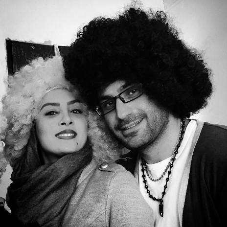 حدیثه تهرانی و 2 عکسش در کنار همسرش
