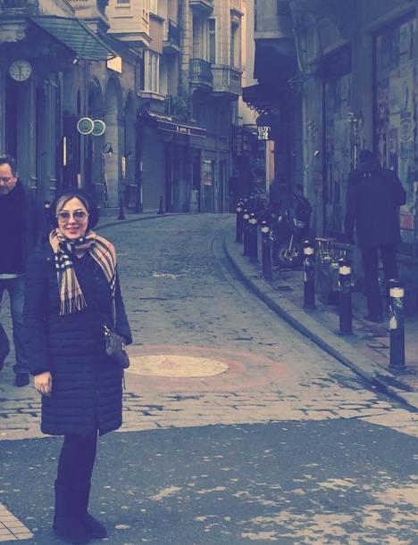 لیلا اوتادی و 3 عکس جدیدش در ترکیه و قبرس