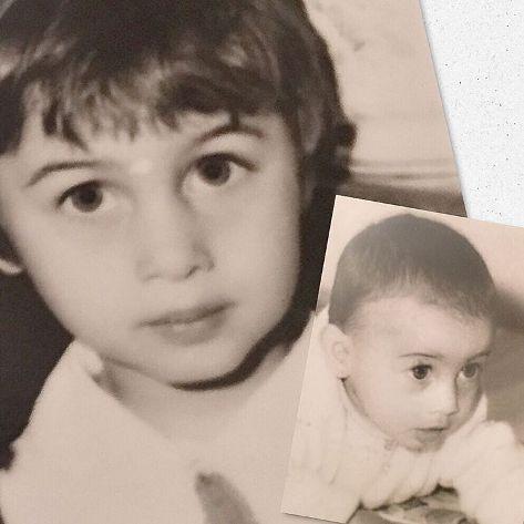 مریم کاویانی را در دوران کودکی اش ببینید