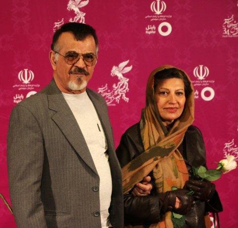مهدی فخیم زاده و عکسش در کنار همسرش در جشنواره فیلم فجر