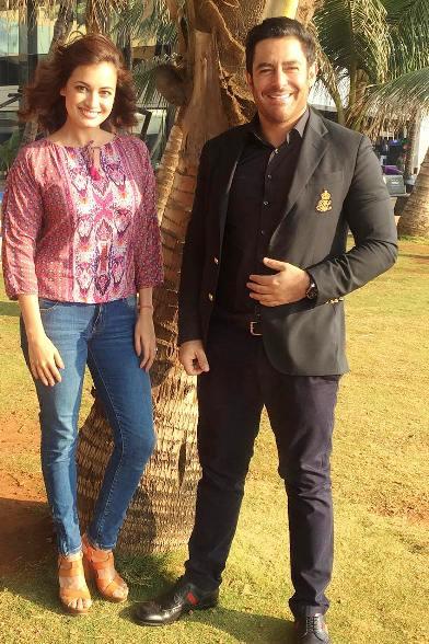 محمدرضا گلزار را در کنار بازیگر زن هند ببینید
