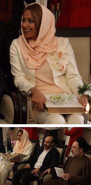 محسن تنابنده را در کنار همسرش ، روشنک ببینید