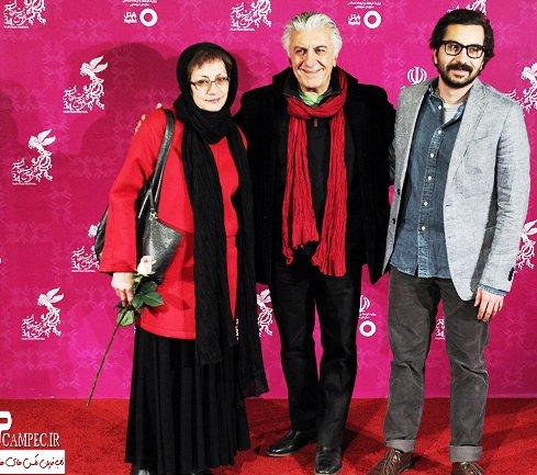 رضا کیانیان و عکسش در کنار همسرش ، خواهرزاده سهراب سپهری