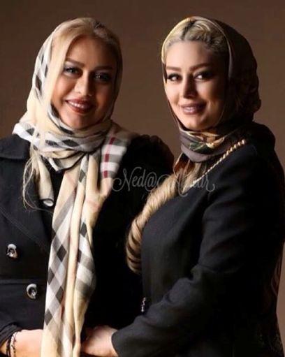 سحر قریشی را در کنار مادرش در جشنواره فیلم فجر ببینید