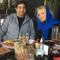 شهرام جزایری را در کنار همسرش ببینید