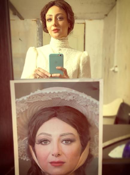 2 عکس از ویدا جوان را با کلاه گیس ببینید