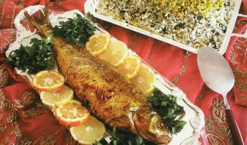 باقالی پلو با ماهی,ایده و آموزش پخت و پز غذای خوشمزه برای عید نوروز 95