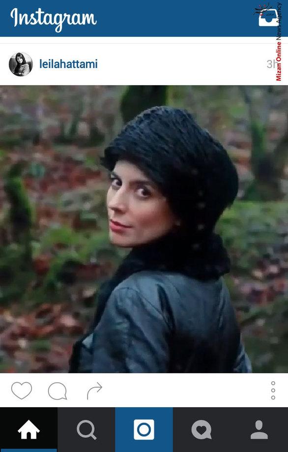 عکس گریم لیلا حاتمی در یک سریال تاریخی