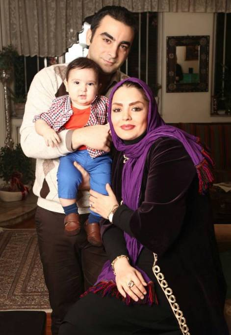عکس جدید سپیده خداوردی در کنار همسر و پسرش