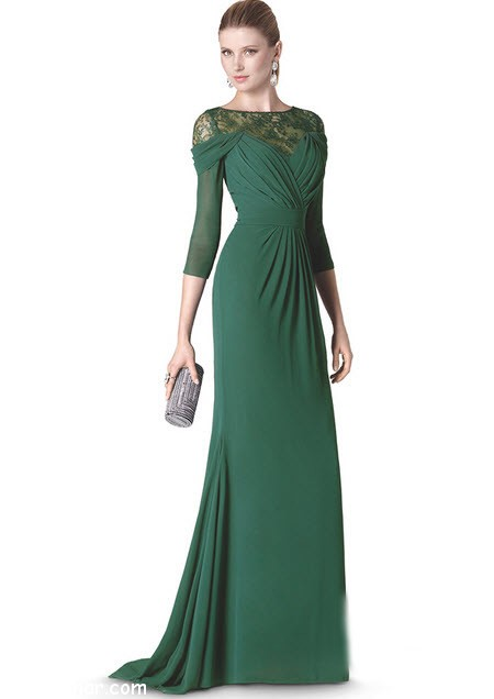 dress-night-- green-e12