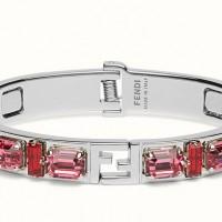 گالری دستبند لوکس و زیبا برند فندی ویژه دخترها