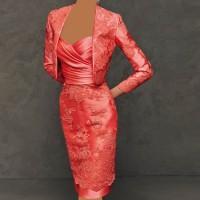 مدل جدید لباس مجلسی گیپور دار ۹۵