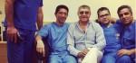 ماجرای سرطان فریدون آسرایی و عمل جراحی اش + عکس