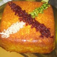 دستور کامل تهیه ته چین مرغ در فر