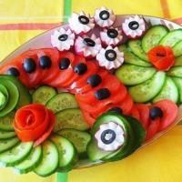 تزیین انواع غذا و سفره + عکس