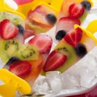 طرز تهیه بستنی یخی با میوه خوشمزه