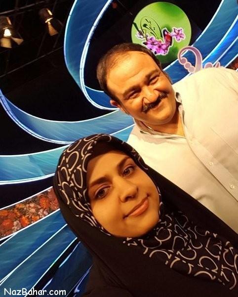 سلفی مهران غفوریان در کنار خواهرش زهرا غفوریان