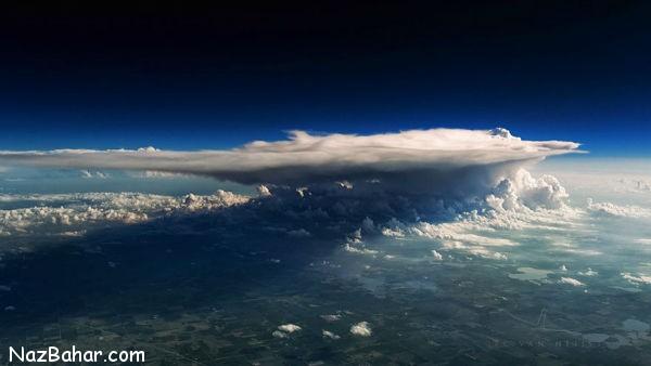 عکسهای جالب و دیدنی از طوفان ها در ارتفاع بالا