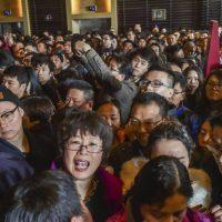 یک روز عادی در کشور پرجمعیت چین