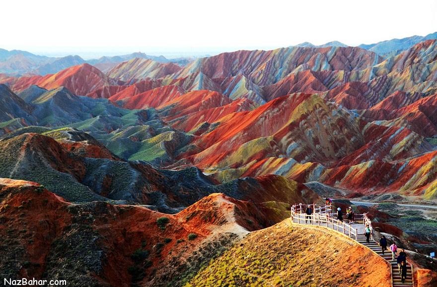 مکان هایی باور نکردنی و زیبا از کره زمین