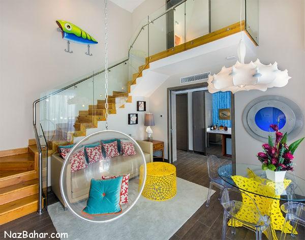 خانه آناناسی شکل باب اسفنجی در واقعیت