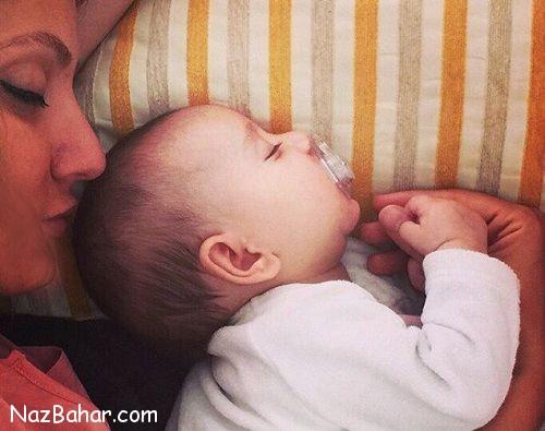 عکس مهناز افشار همراه با همسر و فرزندش + بیوگرافی