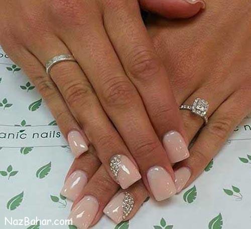 مدل های شیک و جذاب آرایش ناخن عروس