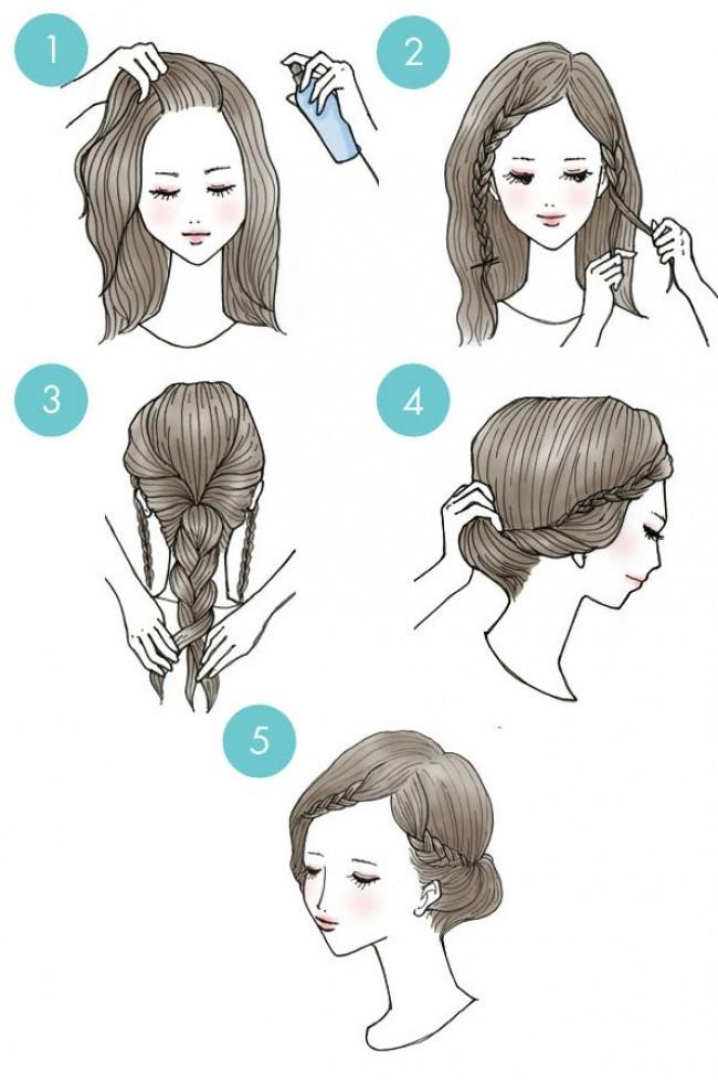 مدل موهای آسان و زیبای زنانه